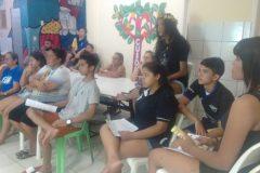 Roda de conversa com Educadores, jovens e voluntários
