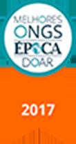 Selo Prêmio Melhores ONGs para se doar - 2017